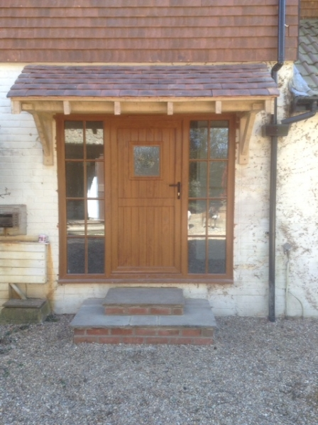 Double glazing all round home improvements for Double glazed porches
